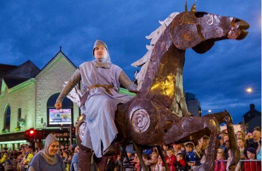 Spraoi International Street Arts Festival, Waterford 2nd - 4th August